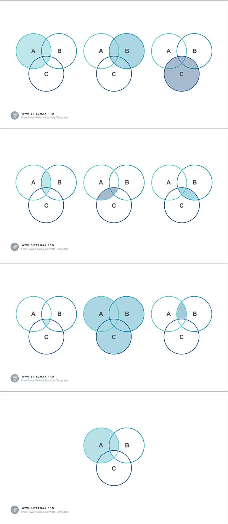 Venn Diagram Ppt Type 2 Free Download Keynote Template Venn Diagram Diagram