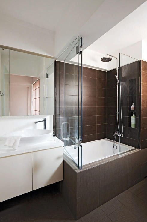 7 Hdb Bathrooms That Are Both Practical And Luxurious  Bath Stunning Hdb Bathroom Design Design Inspiration