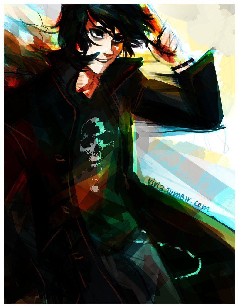 Son of Hades by viria13 on deviantART