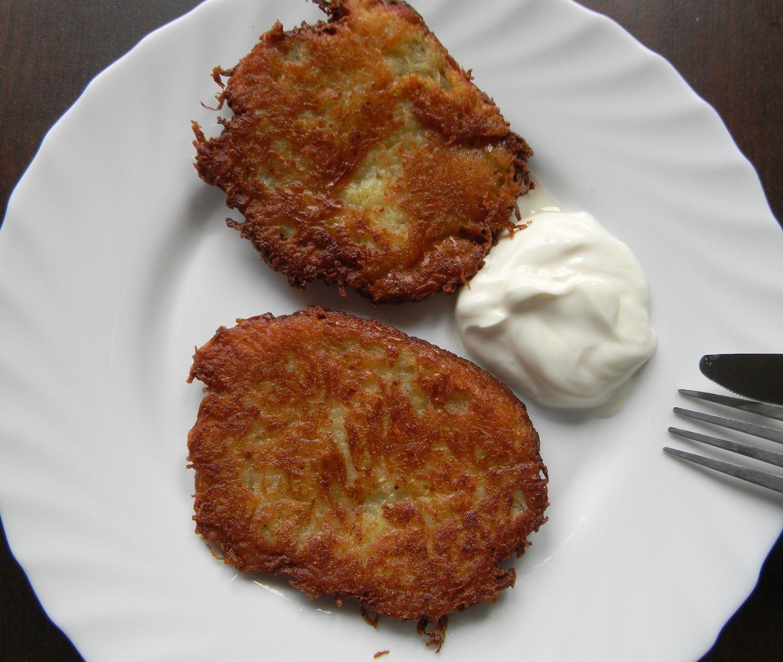 Kuchnia bez glutenu: Placki ziemniaczane (bezglutenowe)