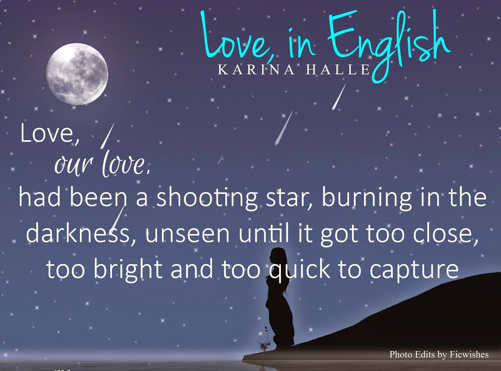 Ficwishes Vanilla Twilight A Review Of Love In English By Karina Halle Favorite Book Quotes Book Quotes How To Speak Spanish