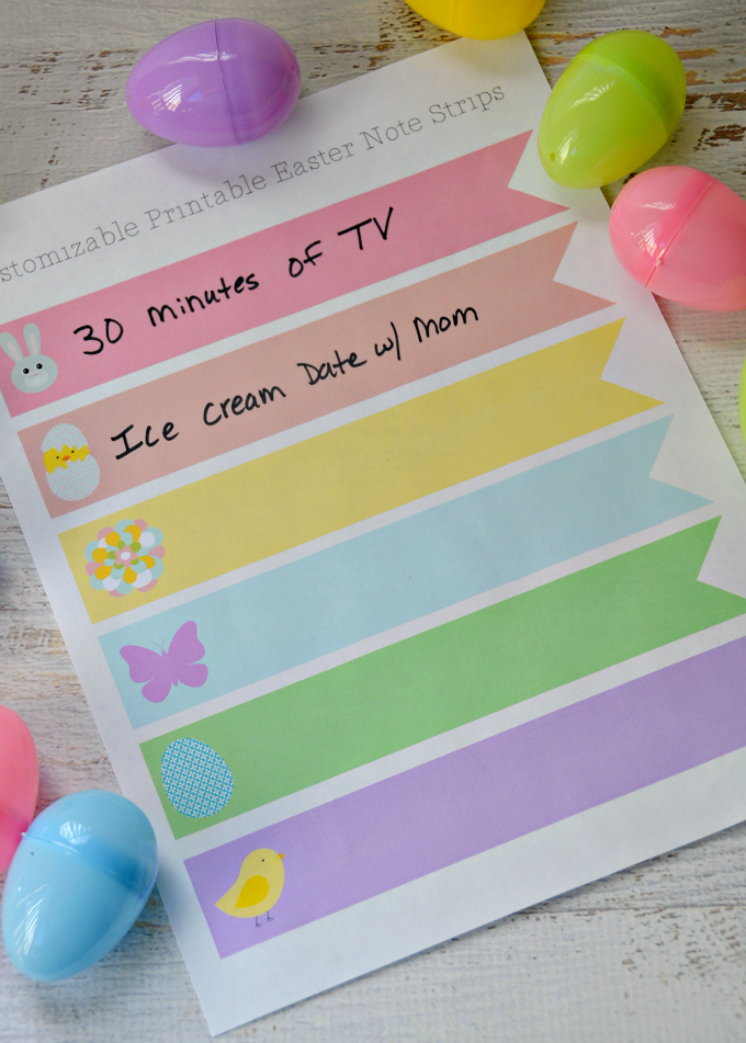 Want to skip the sugar this Easter? Print off these Candy Free Easter Baskets Ideas for Kids! Instead of giving candy, give away coupons for screen time, a date with mom or dad, a later bedtime or whatever your kids love most!