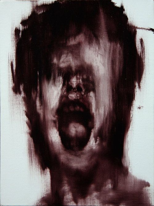 c0ry-c0nvoluted:  Eternal torment captured on canvas.