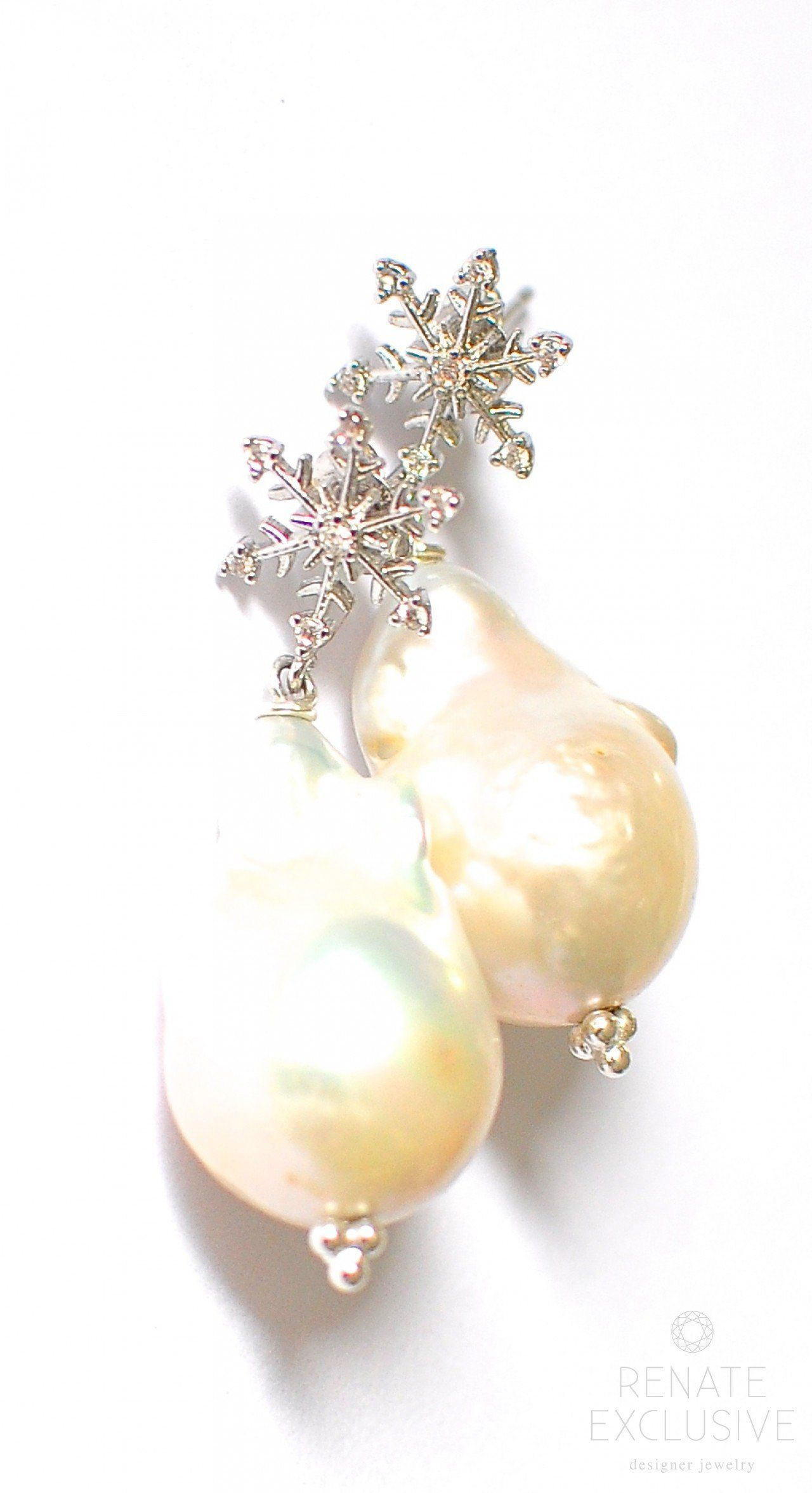 product wire pearl earrings giant alcazar in french