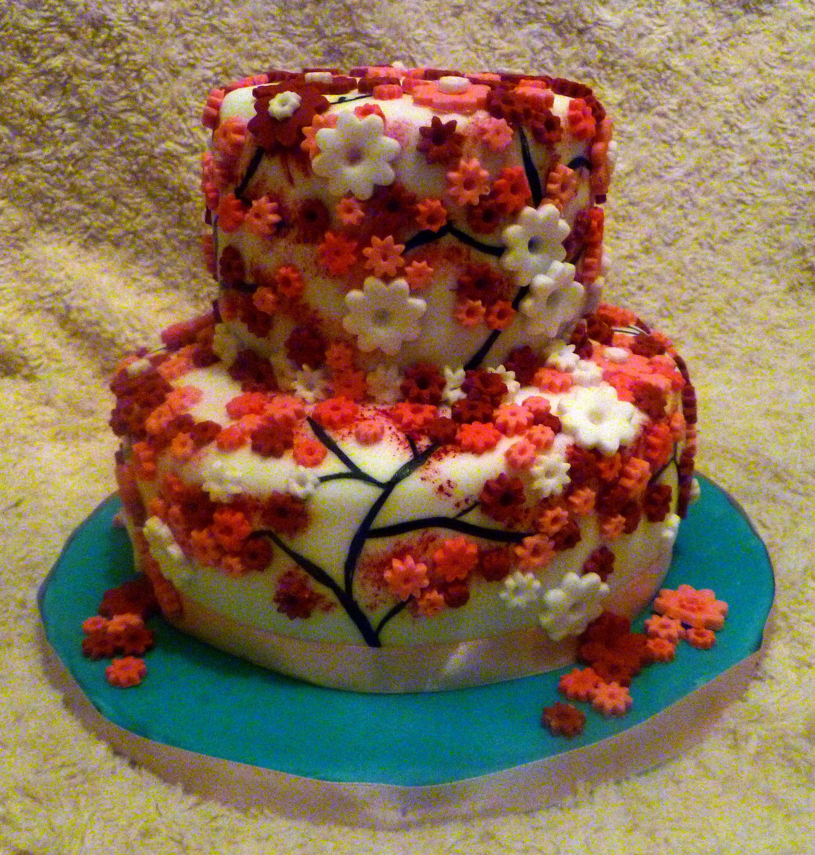 Anime+Cake+Designs Anime Cake Designs Cherry and pandan