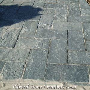 Slate Pavers Are Great For Outdoor Patios And Pool Decks Due To Their  Rustic Look And