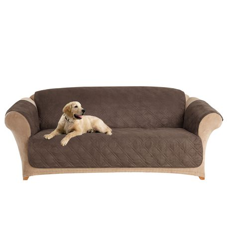 Super Surefit Sure Fit Microfiber Pet Sofa Furniture Cover Squirreltailoven Fun Painted Chair Ideas Images Squirreltailovenorg