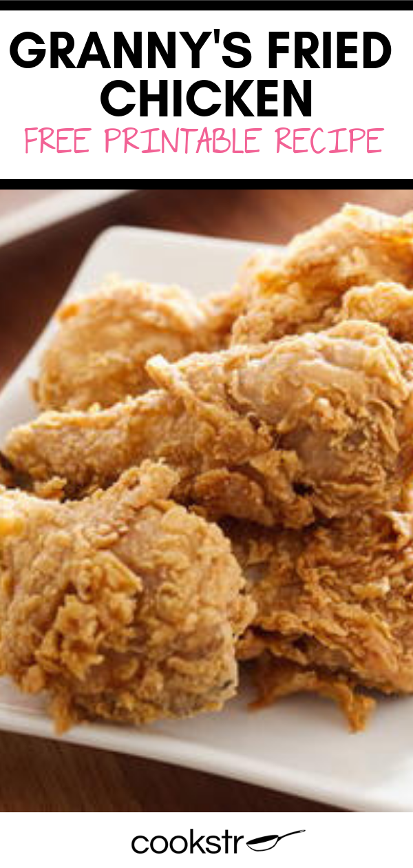Granny S Fried Chicken Recipe Food Network Recipes Chicken Recipes Fried Chicken Recipes