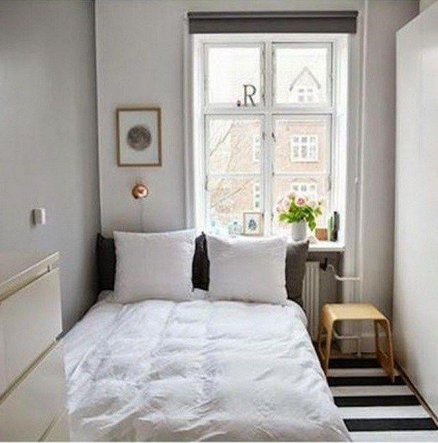 How To Make Small Bedroom Feel Bigger_12 - On the inside #lightbedroom