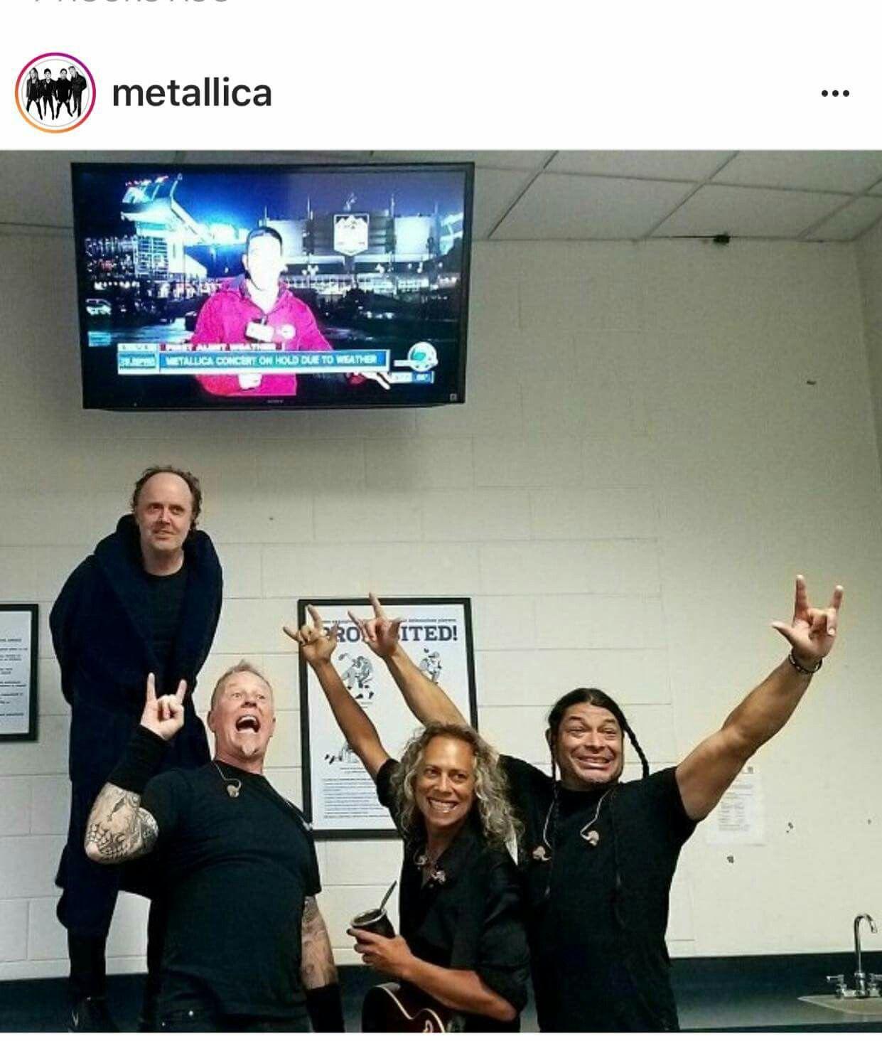 Ride the Lightning!! Metallica concert, Metallica, James