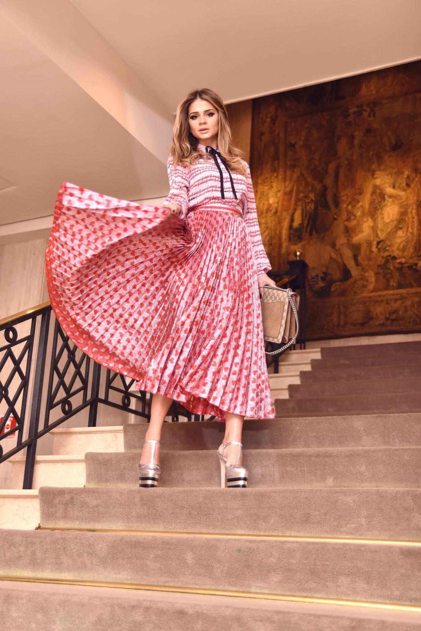 Look da Gucci_Thássia Naves_2 | Fashion | Pinterest | Falda, Blusas ...