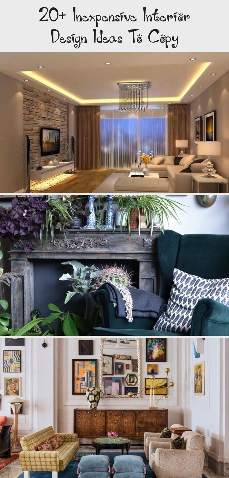 20 Inexpensive Interior Design Ideas To Copy Interior Design Interior Modern Interior Design