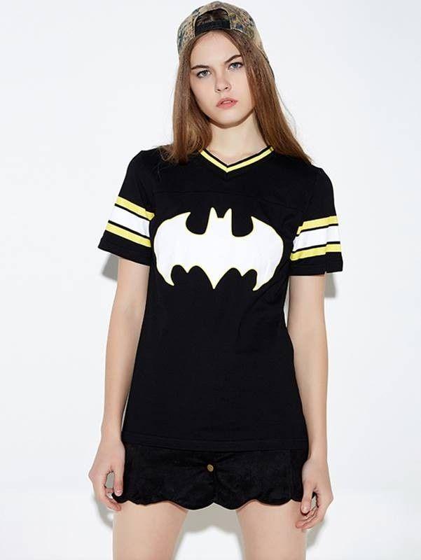 Camiseta Feminina Estampa do Batman - Compre Online