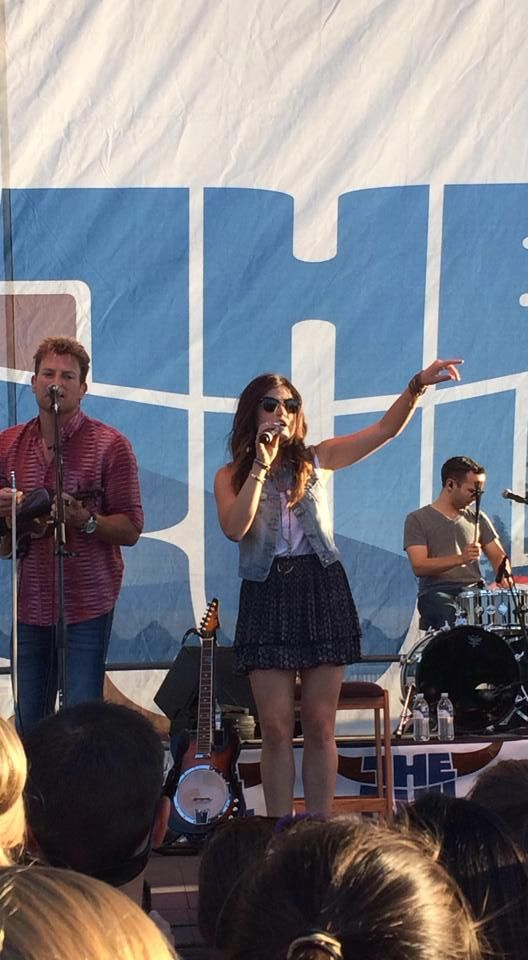 Lucy Hale, Stars and Guitars concert :D | Concert ...