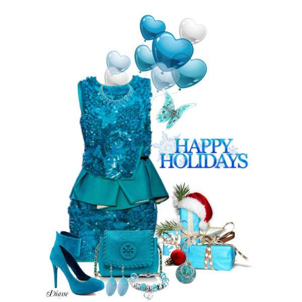 """Happy Holidays"" by diane-shelton on Polyvore"