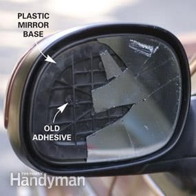 Replace Side View Mirror Glass Diy Home And Car Repairs