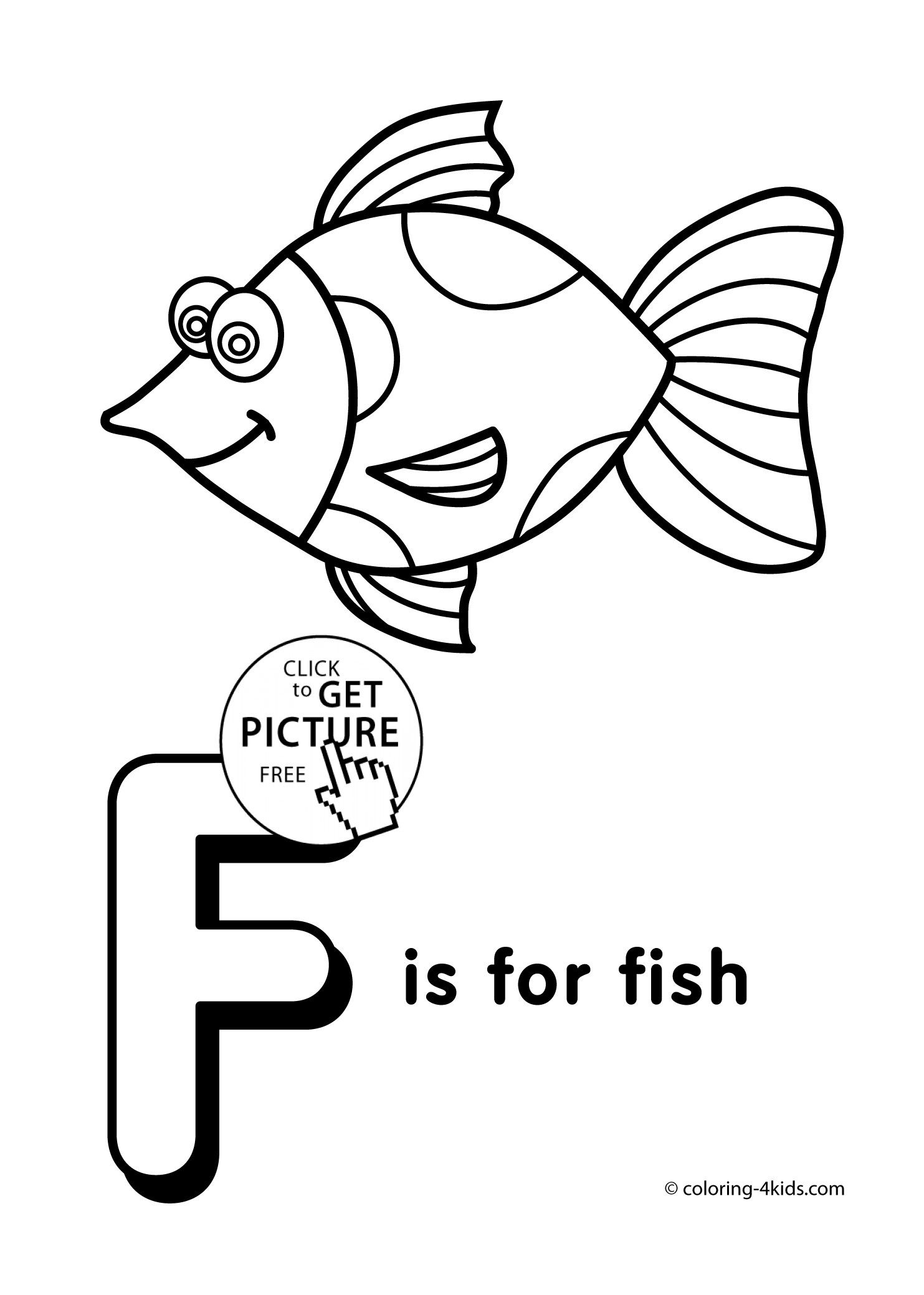 Letter F Coloring Pages For Preschoolers Free Alphabet Coloring Pages Alphabet Coloring Lettering Alphabet