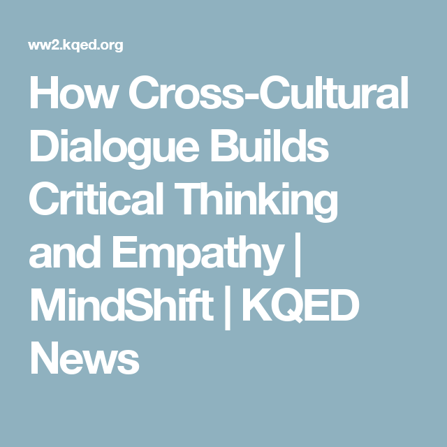 cross-cultural perspectives on critical thinking. journal of nursing education The development of critical thinking is crucial in professional education to augment the capabilities of pre-professional students one method for enhancing critical thinking is participation in.