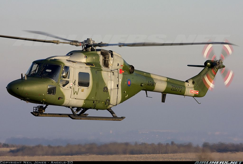 WG.13(Lynx) attack helicopter projects