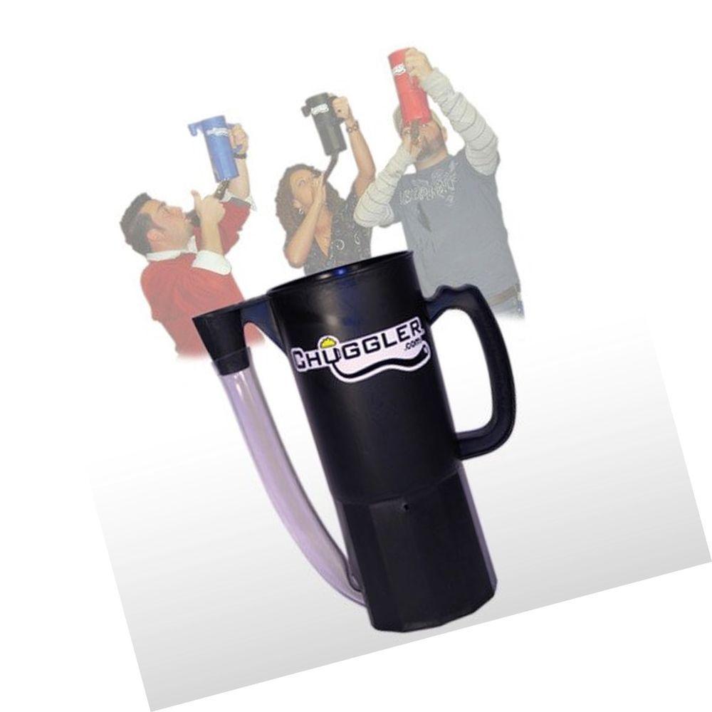 Chuggler chugg mug beer bong black mugs beer bong beer