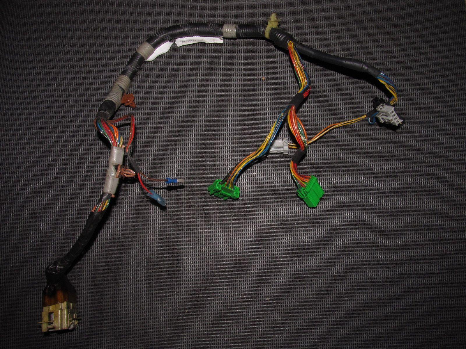 honda del sol oem door wiring harness left 93 94 95 96 97 honda del sol oem door wiring harness left