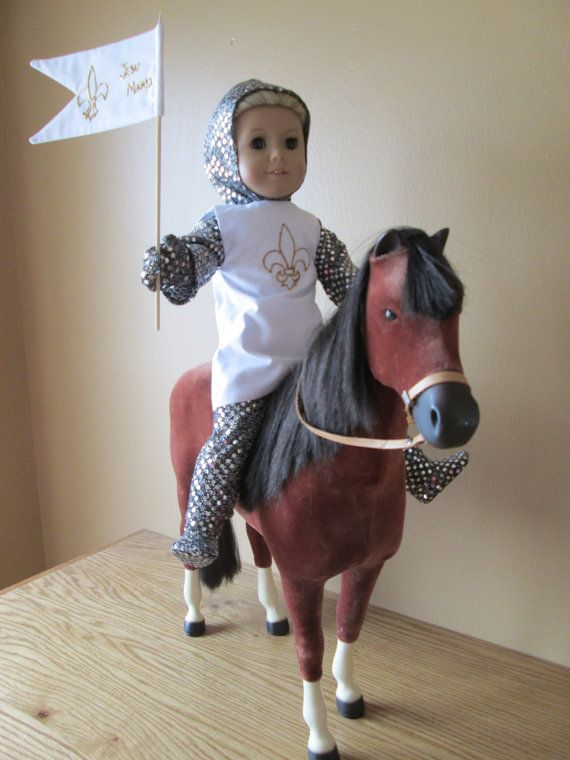 St Joan Of Arc Catholic Doll Clothes For 18 American Girl And