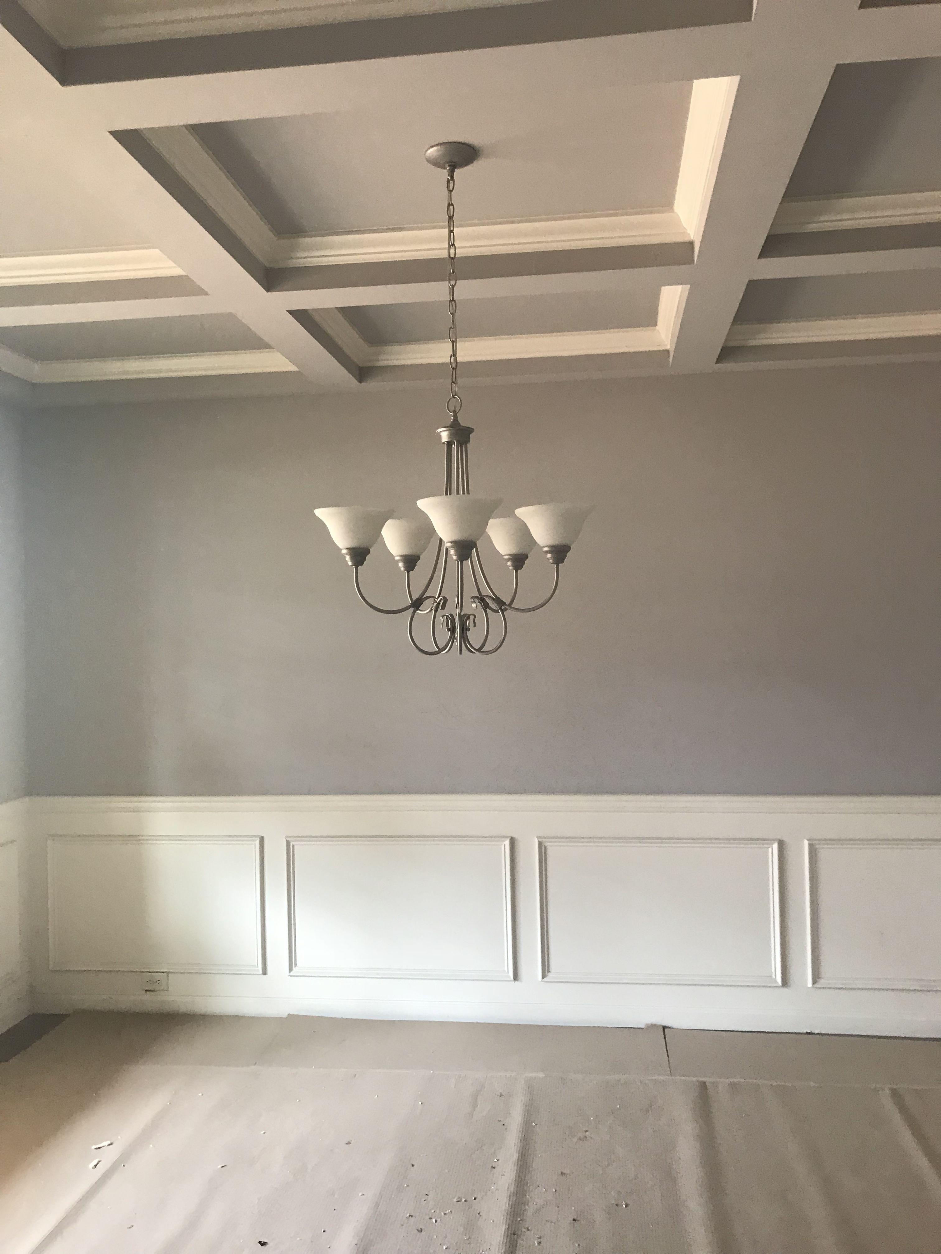 New build. Essential Grey Sherwin Williams Farm house