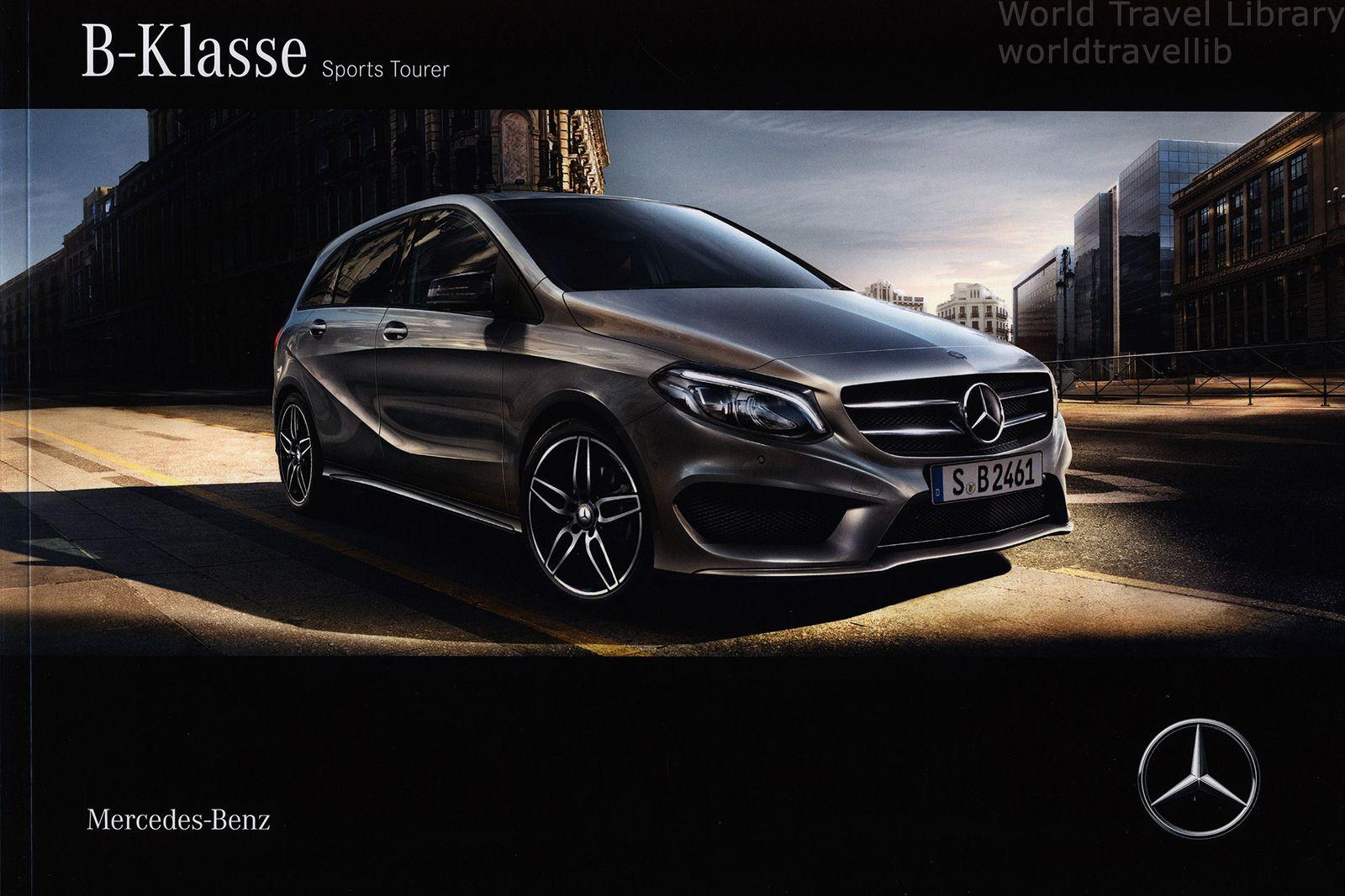 https://flic.kr/p/Tat8qC | Mercedes-Benz B-Klasse / B-Class Sports Tourer; 2016