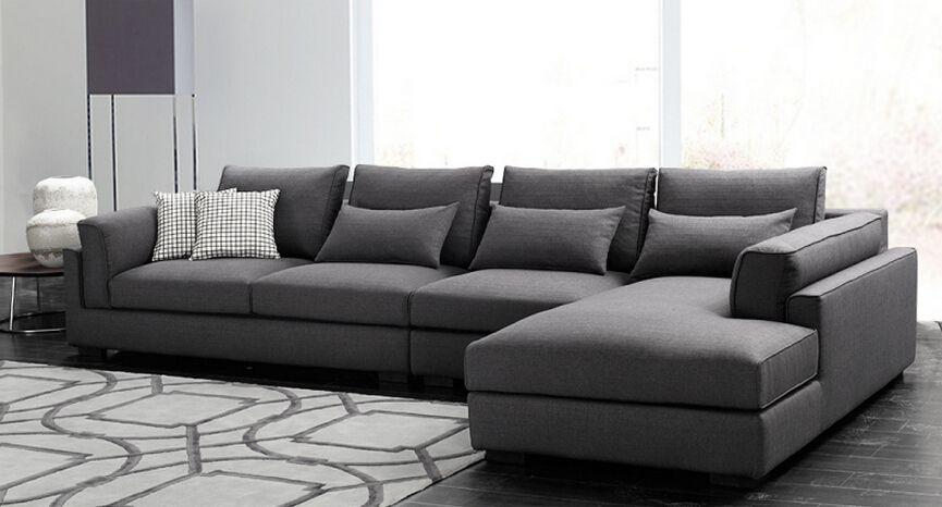 latest sofa set designs purple round chair new 2015 modern design living room black fabric corner view halsons product details