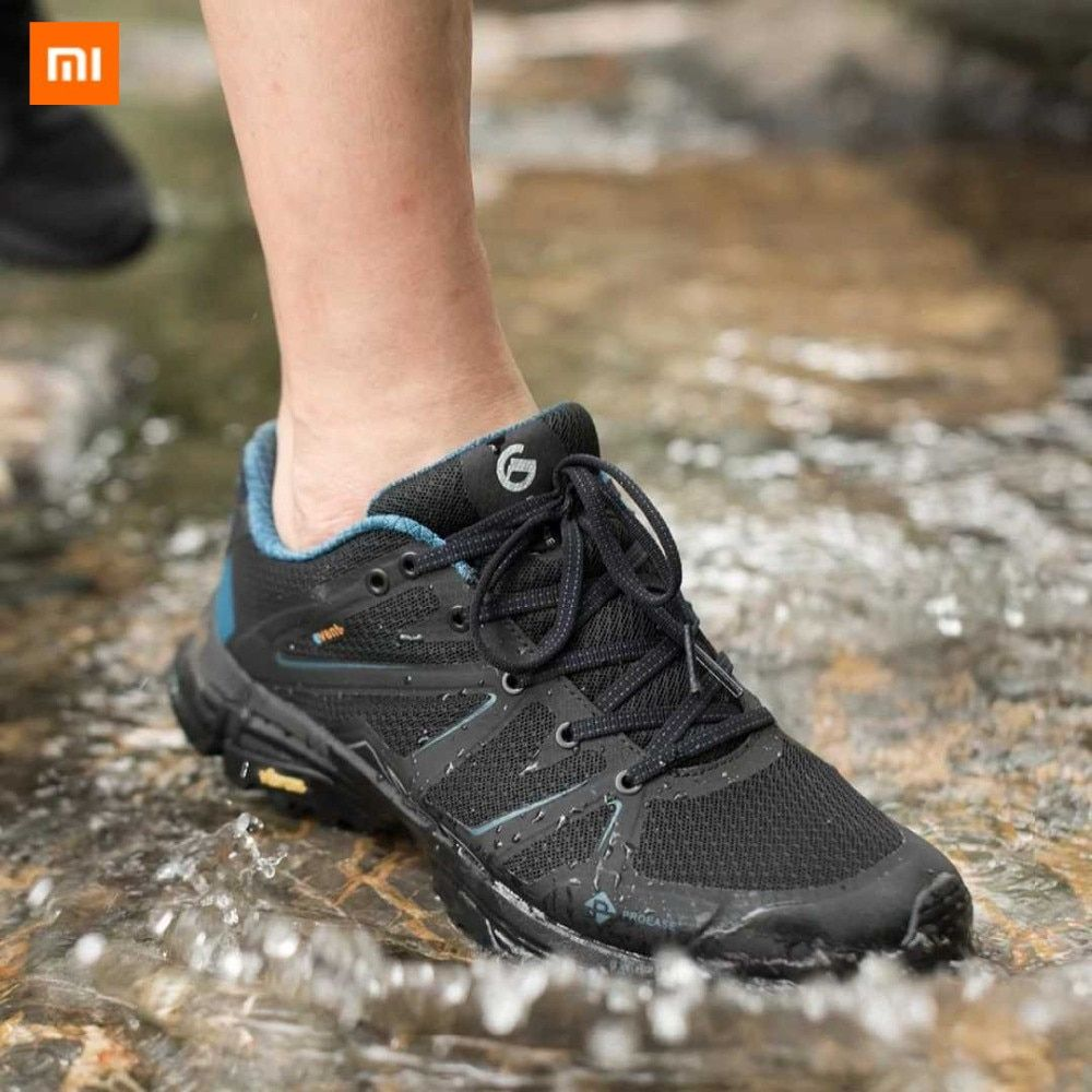 New Xiaomi Mijia Proease Forest Waterproof V Bottom Running Outdoor Sneakers Shoes Anti Slide Shock Breathable For Sneakers Womens Running Shoes Shoes Sneakers