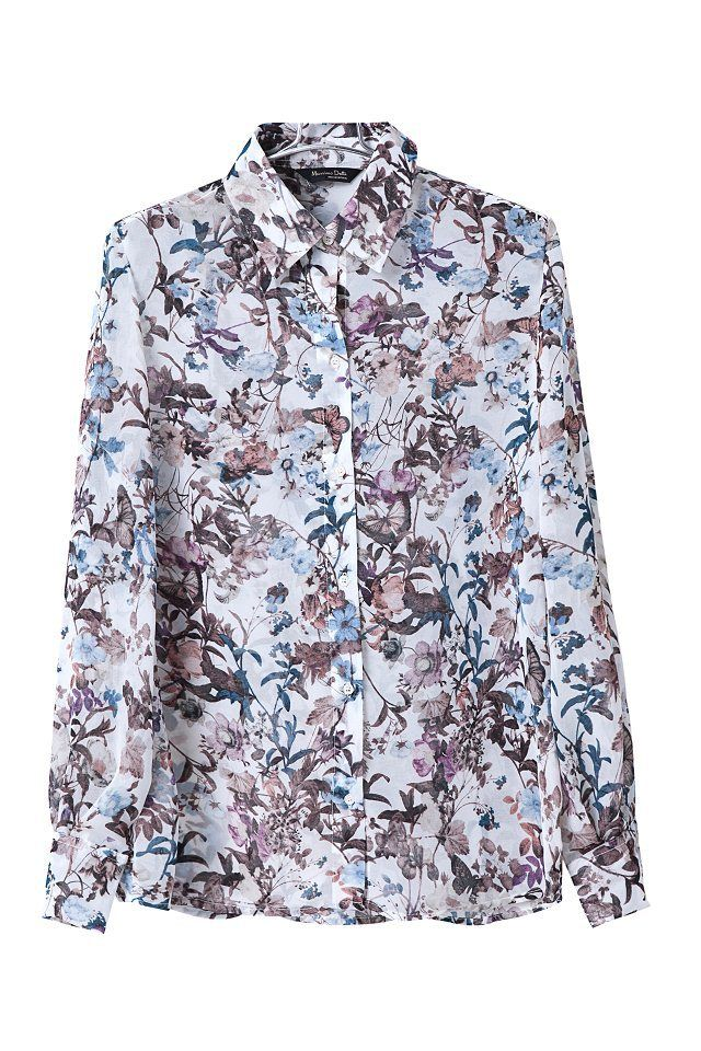 Women Vintage Flower Prints Chiffon Blouse Ladies Casual Shirts Sw2069 G02 7 99 Blouses For Women Printed Chiffon Blouse Vintage Ladies