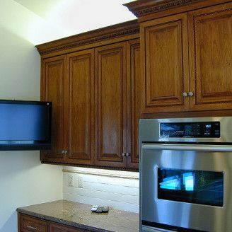 Small Flat Screen Tv Tv In Kitchen Kitchen Pictures Kitchen
