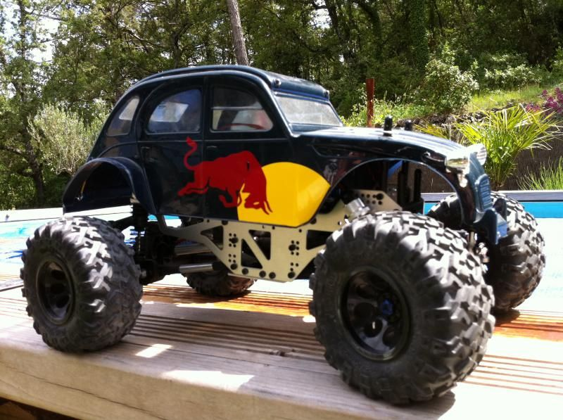 crawler 4x4 citroen 2 cv red bull veicoli pinterest red bull and 4x4. Black Bedroom Furniture Sets. Home Design Ideas