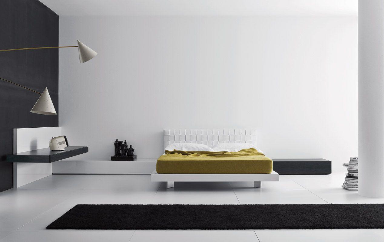 Letti e comodini | modello Intreccio | Pianca design made in italy ...