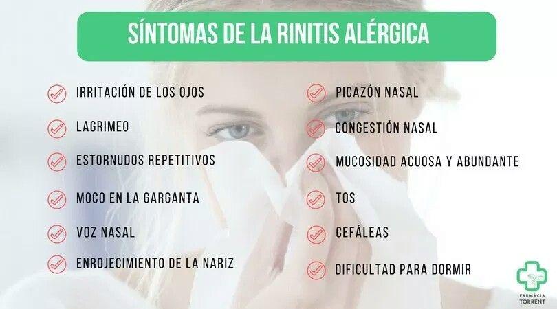 Rinitis Alérgica Síntomas Rinitis Alérgica Congestión Nasal Alergica