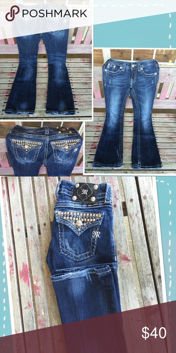 Miss me jeans SZ 26 boot cut Super cute jeans 😍 Miss me jeans SZ 26x30 Miss Me Jeans Boot Cut