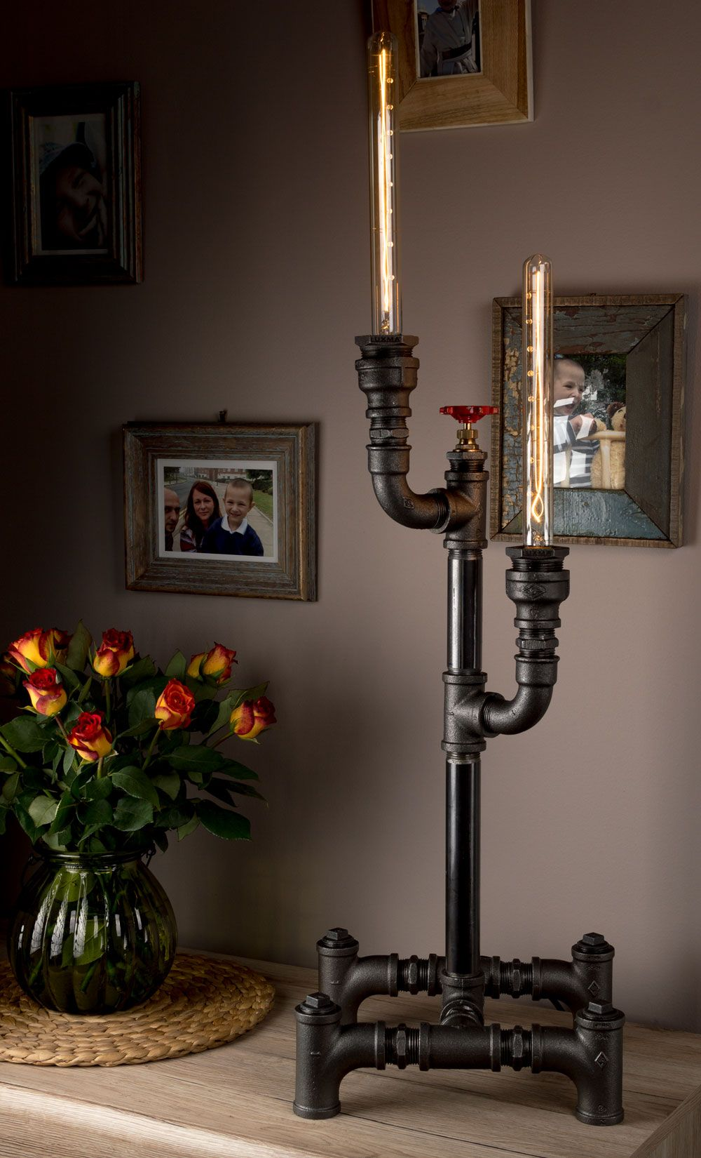 Amazing Pipe Desk Reading Lamps and Table Lamps for Living Room ...