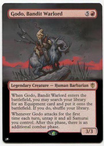 Godo Bandit Warlord With Images Legendary Creature Barbarian