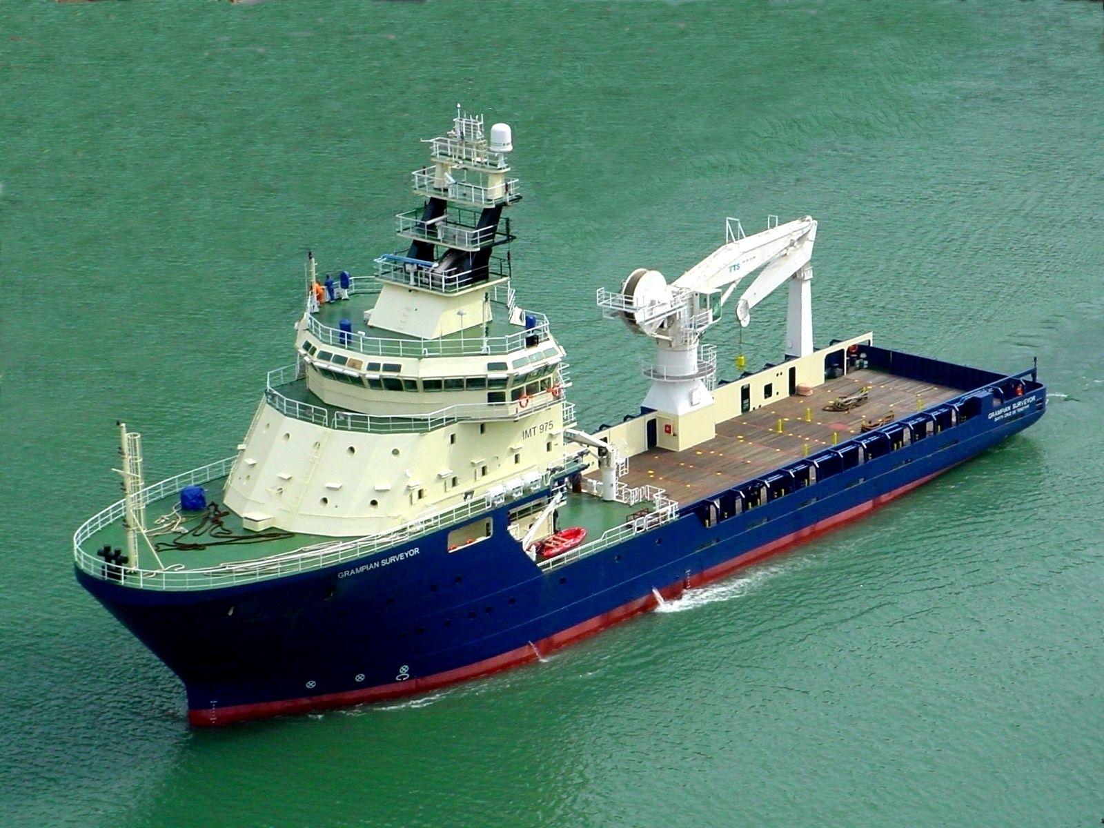 Osd Imt975 Supply Rov Survey Vessel Marine Engineering