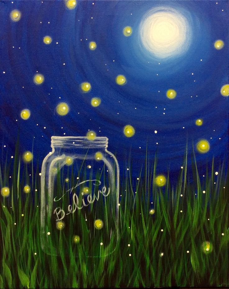 Image Result For Paint With Me Night Ideas Firefly