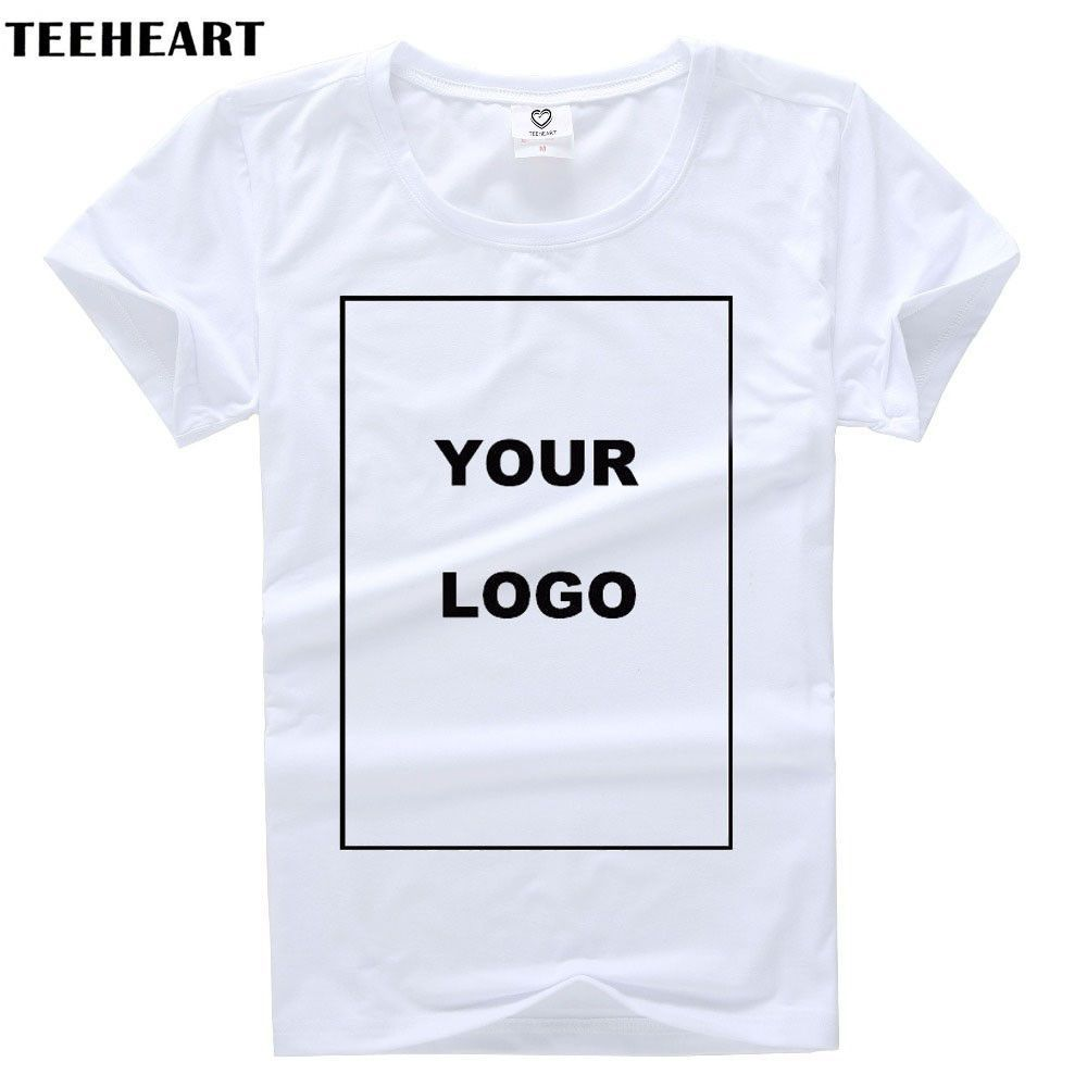 81390006ae22 Customized Men's T Shirt Print Your Own Design High Quality Send Out In 3  Days White