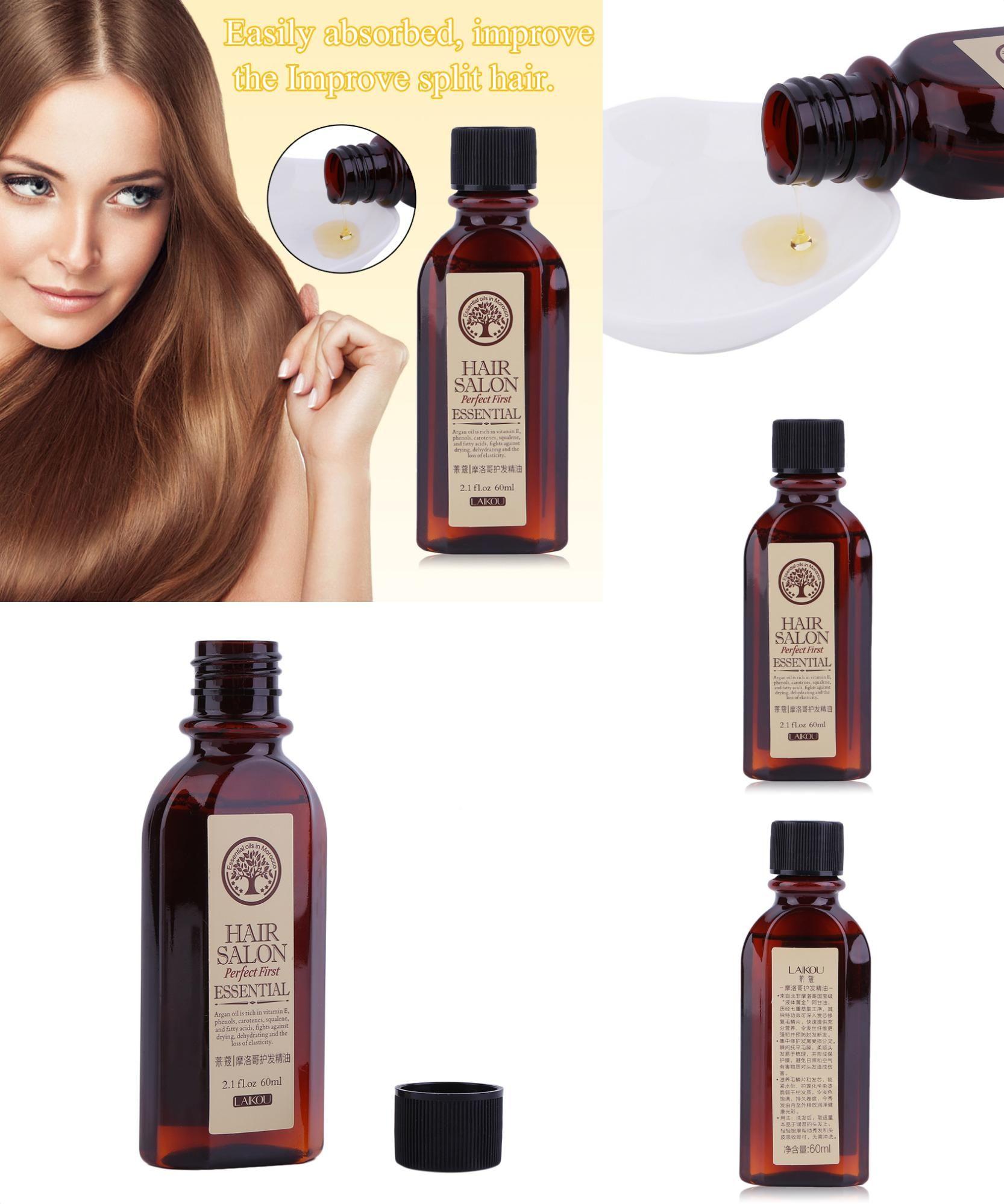 [Visit to Buy] 60ML LAIKOU Multifunctional Hair Care