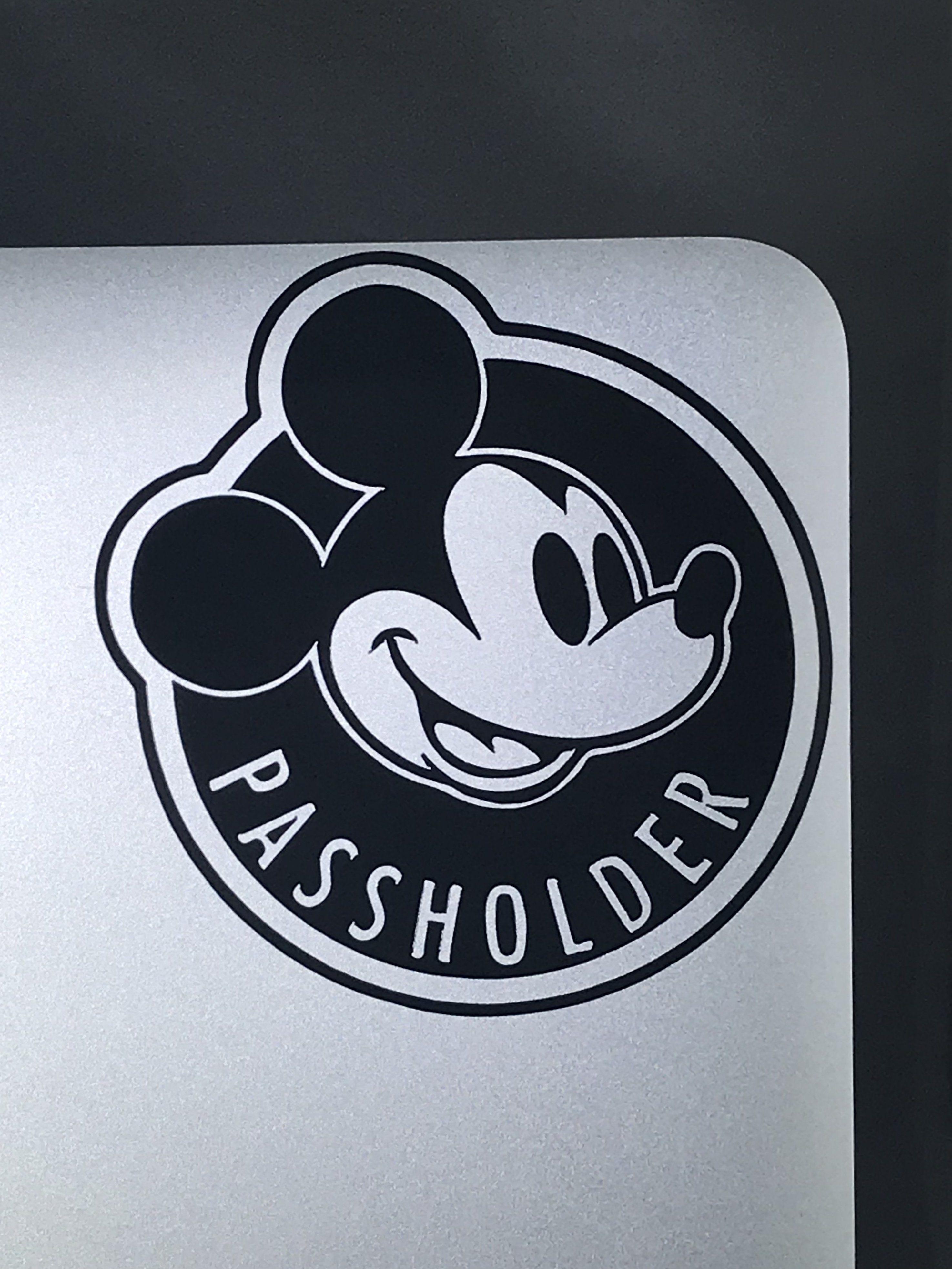 Walt Disney World Annual Passholder Vinyl Car Decal