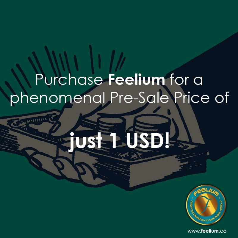 Participate In Feelium S Pre Ico Sale Buy Feelium At Www Feelium