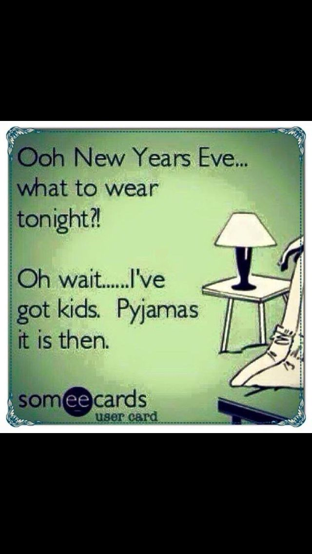 new years eve with kids ecard