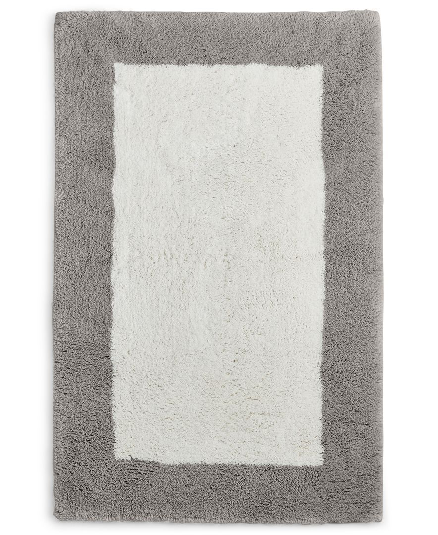 Hotel Collection Colorblock 22 X 36 Bath Rug Only At