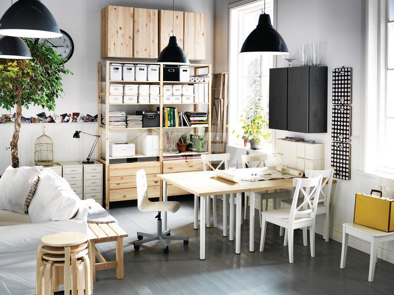 home office workspace wooden furniture. Fantastic Compact Office Decorating Ideas For Men Small Chair Black Pendant Light And Wooden Furniture Style Home Workspace G