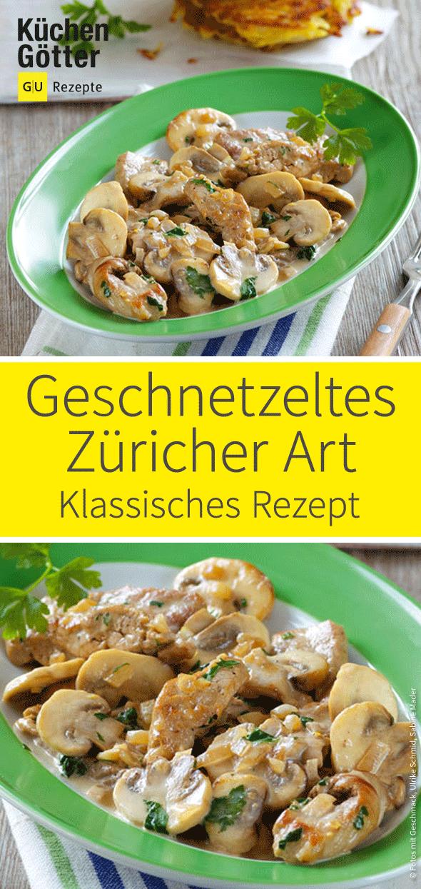 Geschnetzeltes Züricher Art #beefsteakrecipe