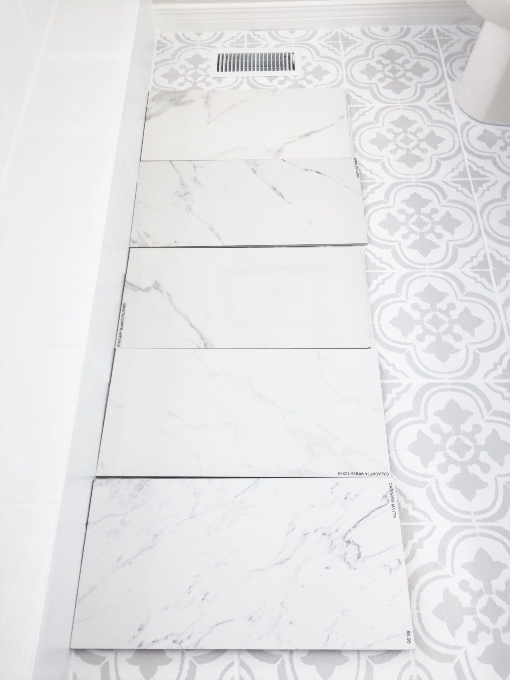 How To Pick The Perfect Floor Tile For Your Space Mistakes To Avoid With Images Tile Floor Porcelain Flooring Porcelain Tile Bathroom