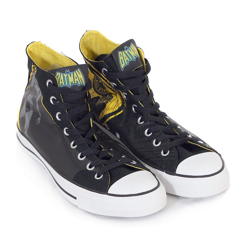 CONVERSE X DC COMICS ALL STAR HI SUPERMAN   BATMAN TRAINER LIMITED EDITION   6716903a7